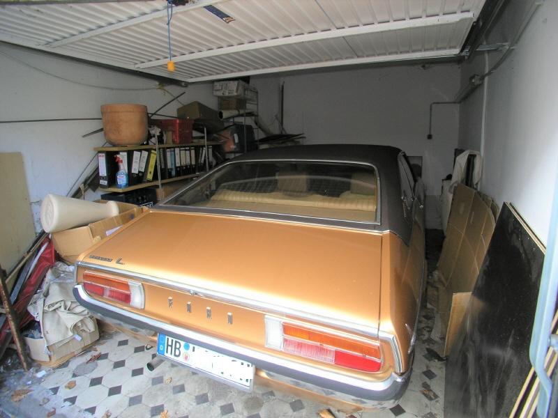 Beheizte Garage