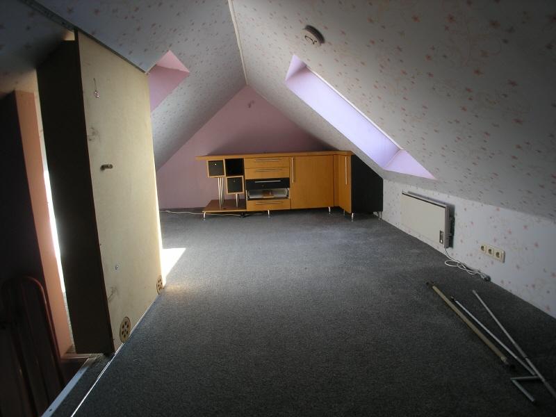 Raum im Spitzboden