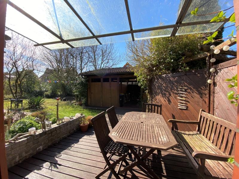 Terrasse an der Küche