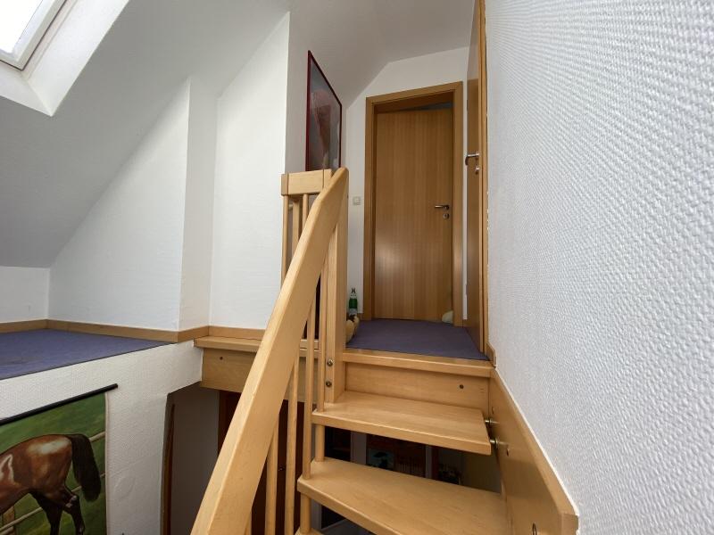 Treppe und Flur Dachgeschoss
