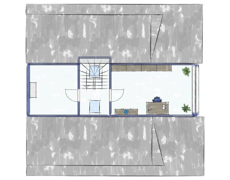 Grundirss Dachgeschoss