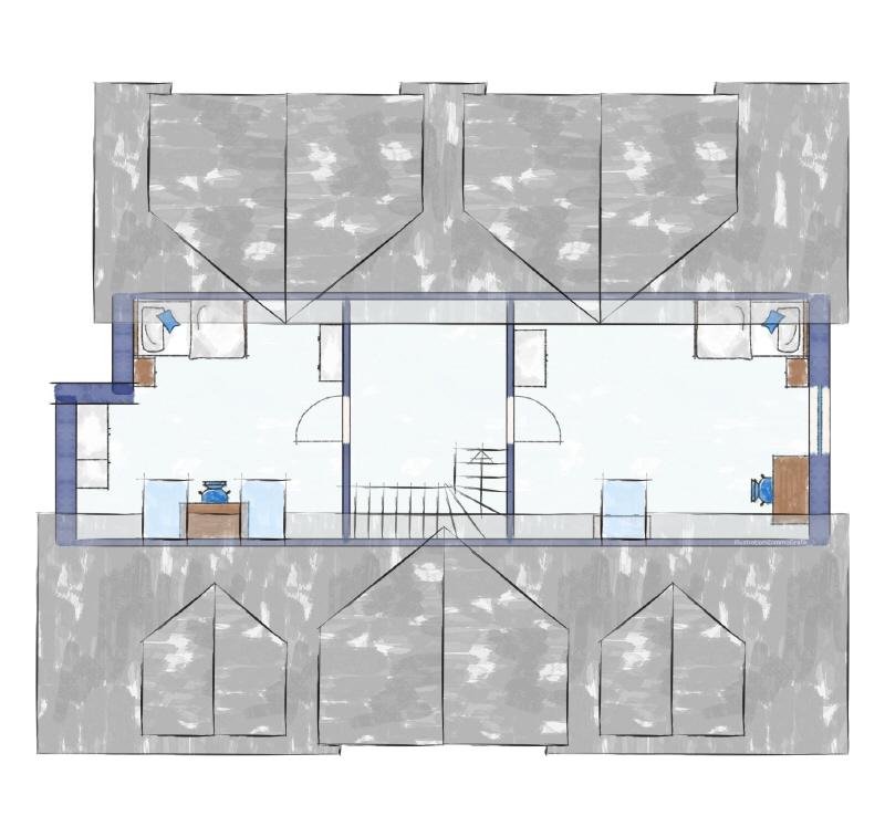 Zweifamilienhaus Dachgeschoss