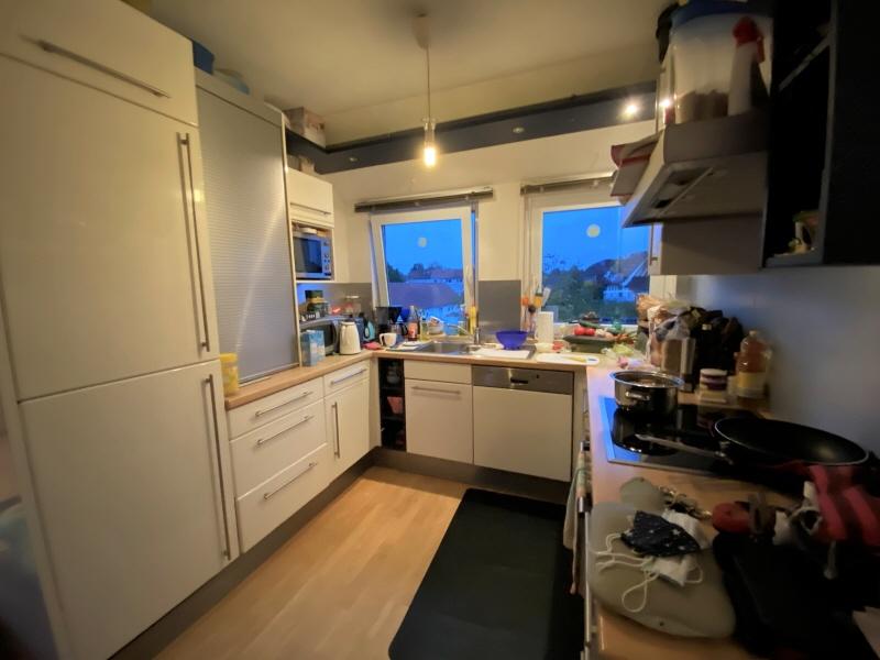 Wohnung DG hinten Küche