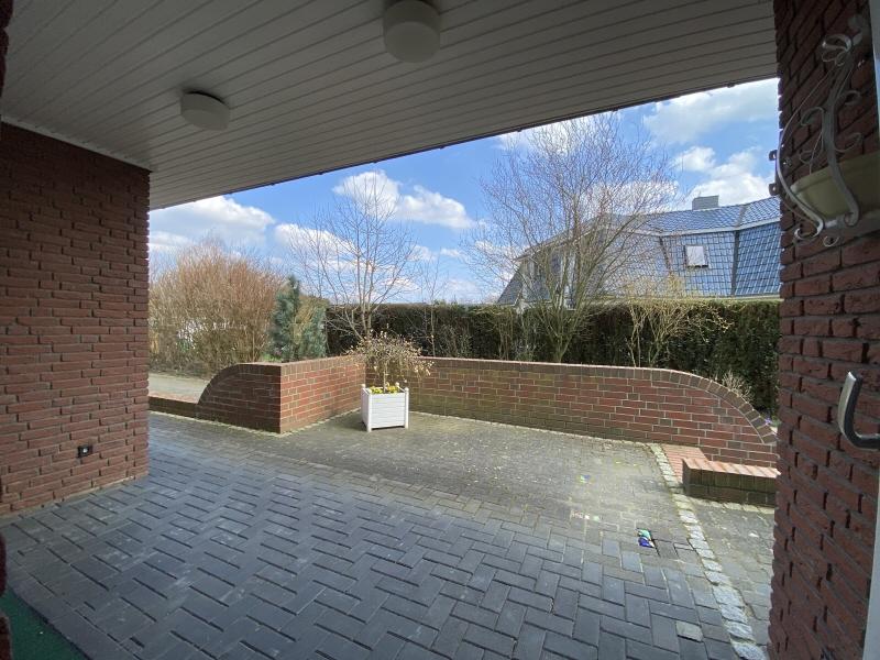 Terrasse vor der Küche